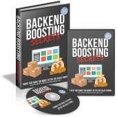 Backend Boosting Secrets Video with Master Resell Rights