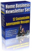 Home Business Newsletter Set eBook with Master Resale Rights