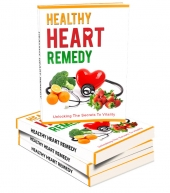Healthy Heart Remedy eBook with private label rights