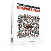 Time Management Graphics Pack Graphic with private label rights