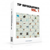 Tip Infographics Volume 1 Graphic with private label rights