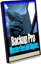 BackUp Pro Software with Master Resale Rights