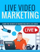 Live Video Marketing eBook with Private Label Rights