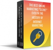 The Best Online Marketing Secret Ever In The History Of The Internet Marketing eBook with Master Resell Rights