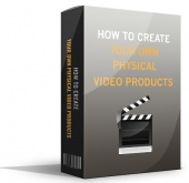 How To Create Your Own Physical Video Products eBook with Master Resell Rights