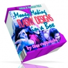Money Making Flashy Designs In A Box Graphic with Resell Rights
