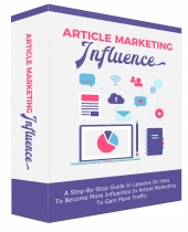 Article Marketing Influence eBook with Master Resell Rights