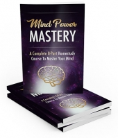 Mind Power Mastery eBook with Master Resell Rights