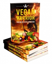 Vegan Warrior eBook with private label rights