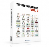 Tip Infographics Volume 2 Graphic with Personal Use