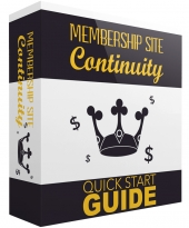 Membership Site Continuity GOLD eBook with private label rights