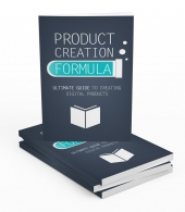 Product Creation Formula GOLD eBook with private label rights