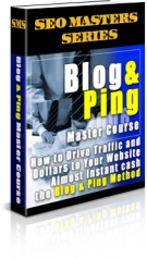 Blog & Ping Master Course eBook with Private Label Rights