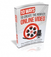 10 Ways to Create The Perfect Online Video eBook with Master Resell Rights