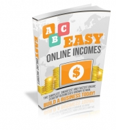 Easy Online Income Streams eBook with private label rights