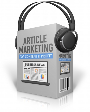 Article Marketing For Content And Profit