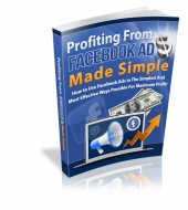 Profiting From Facebook Ads eBook with private label rights