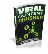Viral Content Crusher eBook with private label rights