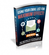 Maximizing Your Email List Potential eBook with private label rights