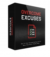 Overcome Excuses GOLD Video with private label rights