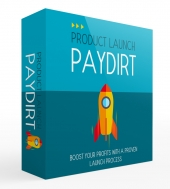 Product Launch Paydirt Gold Upgrade eBook with private label rights