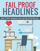 Fail Proof Headlines eBook with private label rights