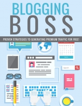 Blogging Boss eBook with Private Label Rights