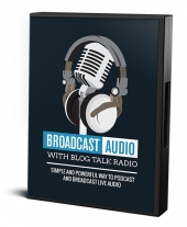 Broadcast Audio with Blog Talk Radio Video with private label rights