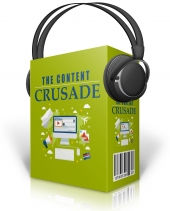 The Content Crusade Audio with Master Resell Rights