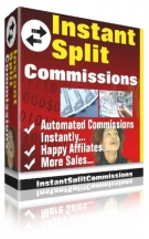 Instant Split Commissions Software with Resell Rights