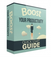 Boost Your Productivity eBook with Master Resell Rights