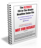 Headline Swipe File eBook with Personal Use Rights