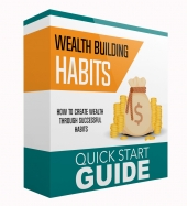 Wealth Building Habits eBook with private label rights
