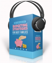 Budgeting Strategies For Busy Families Audio with Master Resell Rights