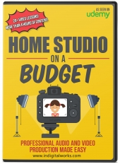 Home Studio On A Budget Video with Resale Rights