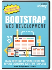 Bootstrap Web Development Video with private label rights