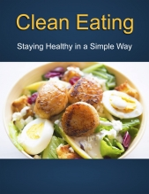 Clean Eating Report and Ecourse eBook with Private Label Rights