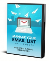 Manage Your List With Aweber Video with Master Resell Rights
