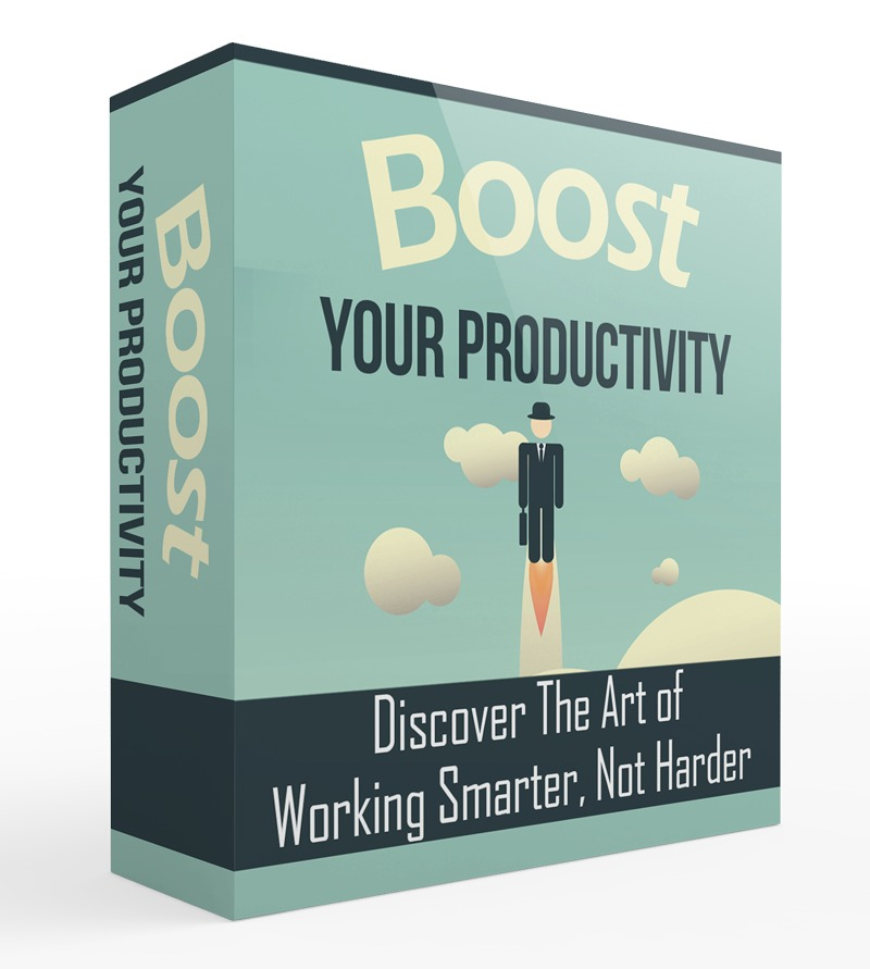 Boost Your Productivity Upgrade