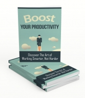 Boost Your Productivity Upgrade eBook with Master Resell Rights
