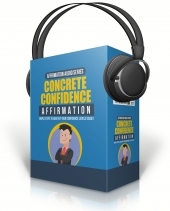 Concrete Confidence Affirmation Audio with Master Resell Rights