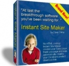 Instant Site Maker Software with Resell Rights