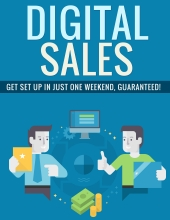 Digital Sales eBook with Private Label Rights