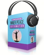 Inner Peace Affirmation Audio with Master Resell Rights
