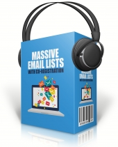 Massive Email Lists With Co Registration Audio with Master Resell Rights