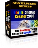Google Site Map Creator 2006 Software with Private Label Rights