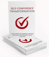 Self Confidence Transformation eBook with Master Resell Rights
