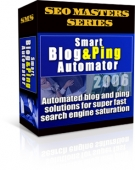 Smart Blog & Ping Automator 2006 Software with Resell Rights