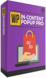 WP In-Content Popup Pro Software with Master Resell Rights