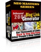 Inbound Blog Link Generator 2006 Software with Resell Rights